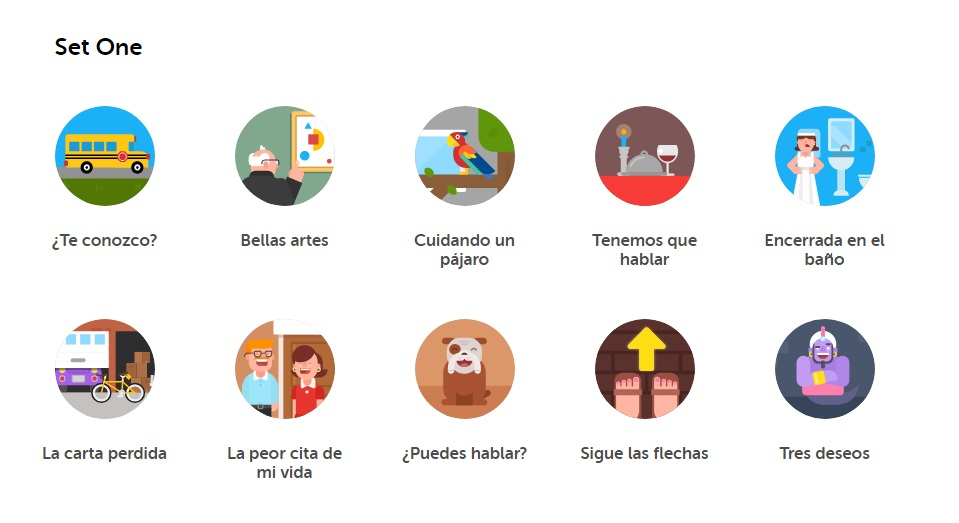 Duolingo Spanish Stories