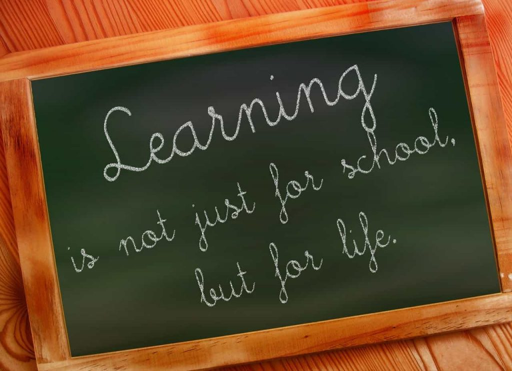 Learn For Life Quote