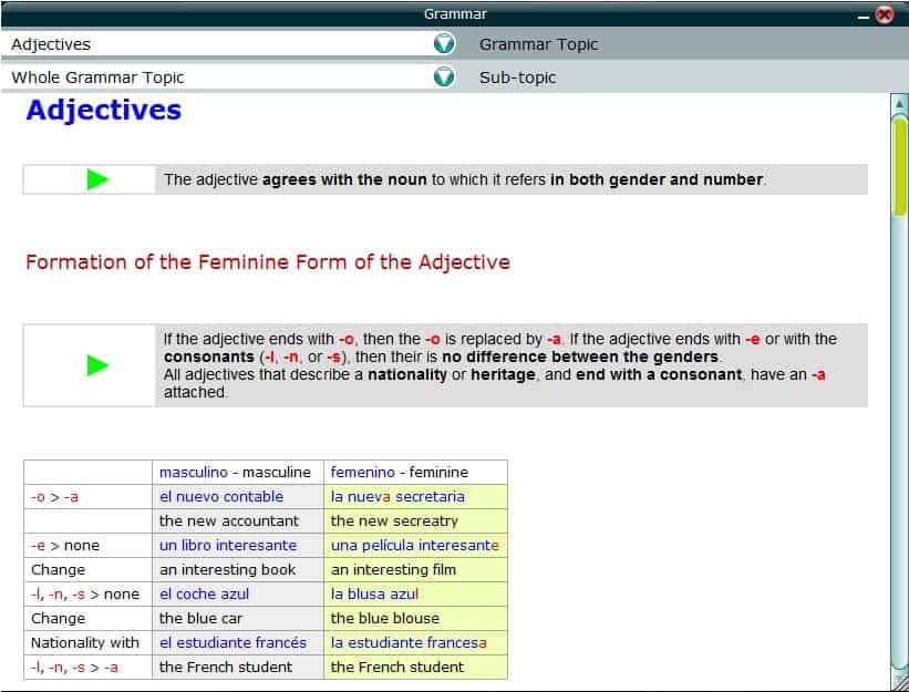 Easy Learning 6 Grammar Ex 4