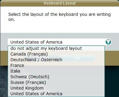 Keyboard Layout
