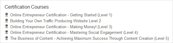Get Started Here Courses