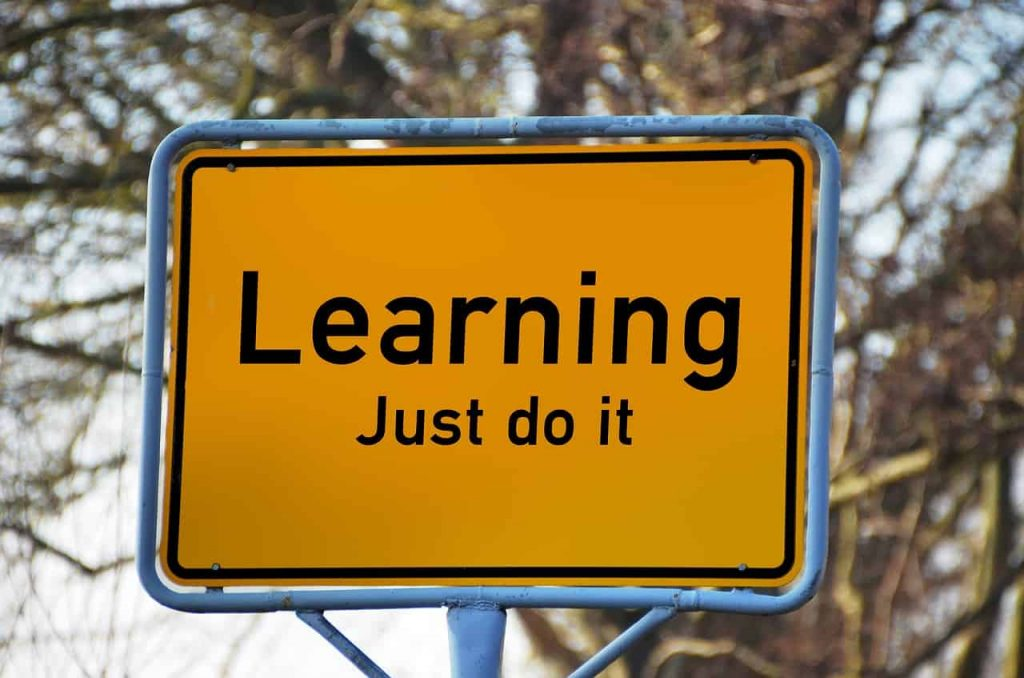 Learning Just Do It Sign