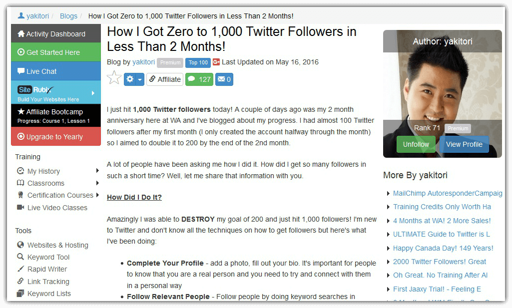 How Te Get 1,000 Twitter Followers In Less Than 2 Months