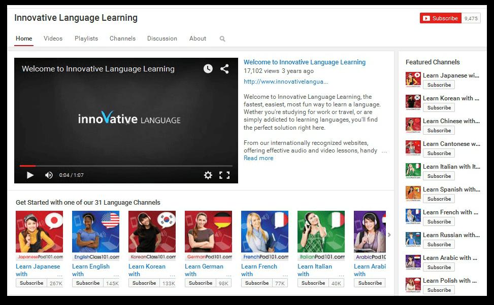 Innovative Language Learning