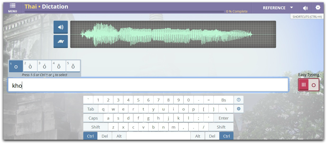 Transparent Language - Dictation With Easy Typing