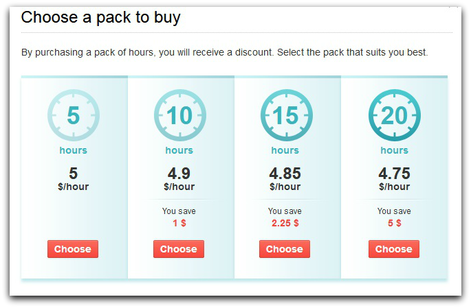 Pack Of Hours