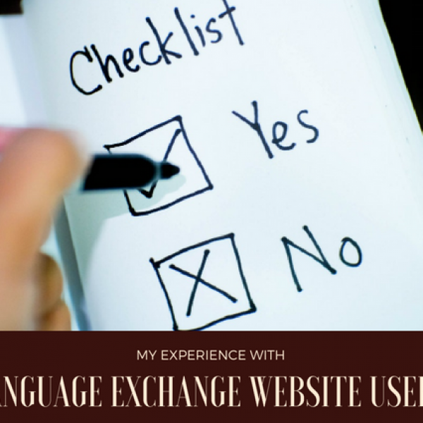My Experience With Language Exchange Website Users