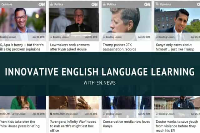 Innovative English Language Learning With en.news