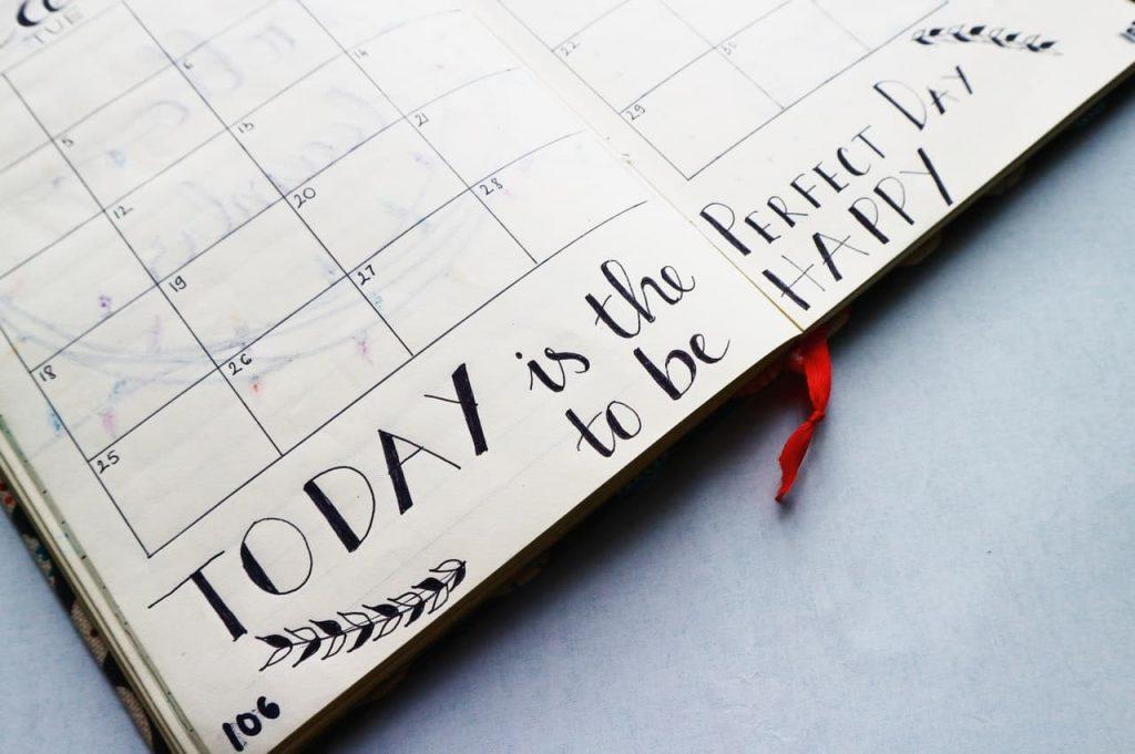 Plan Your Days Calendar