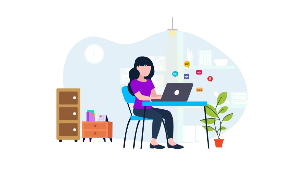 Freelance Female Web Developer