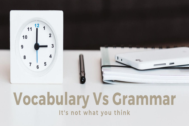 Vocabulary-Vs-Grammar