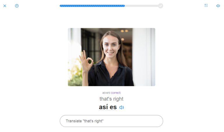 SpanishDict Vocabulary Quiz Reveal Answer